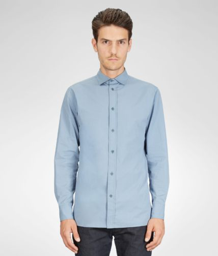 BOTTEGA VENETA - Washed Light Cotton Shirt