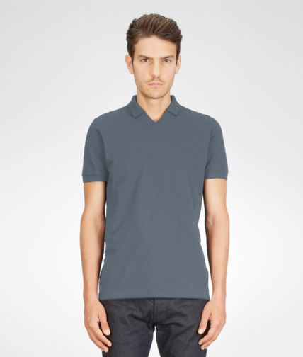 BOTTEGA VENETA - Cotton Piqué Polo Shirt