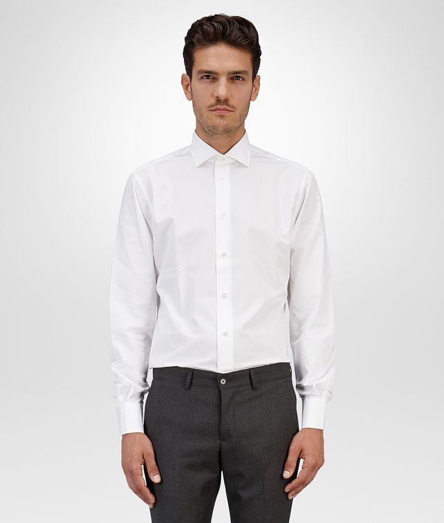 BOTTEGA VENETA SHIRT IN BIANCO COTTON Formalwear or shirt U fp