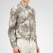 Floral Print Cotton Shirt - Top or Sweater - BOTTEGA VENETA - PE13 - 539