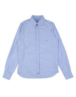 C.p. Company Undersixteen Shirts Long Sleeve Shirts Boys On Yoox.com