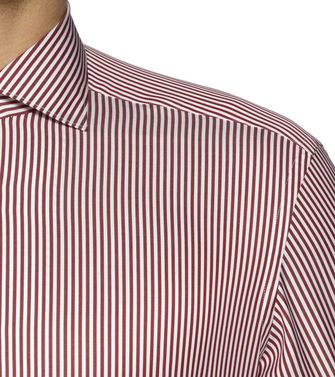 ERMENEGILDO ZEGNA: Camisa casual Marrón - 38326981TH