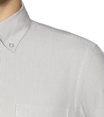 ZEGNA SPORT: Casual Shirt Grey - 38327302KK