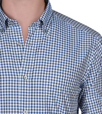 ZEGNA SPORT: Casual Shirt Blue - 38328264VR