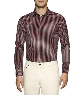 ZEGNA SPORT: Casual Shirt Brown - 38328265SB