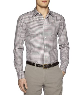 ERMENEGILDO ZEGNA: Casual Shirt Brown - 38328456OD