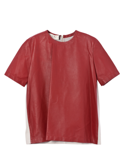 MARNI - Camicia in pelle