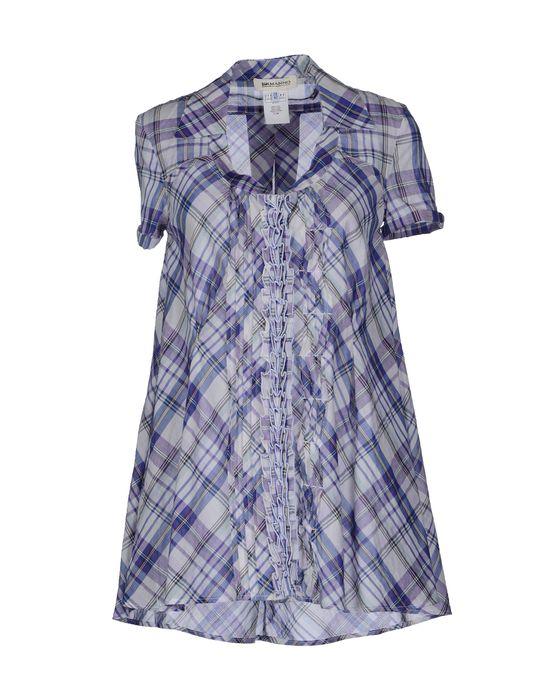 цена  ERMANNO ERMANNO SCERVINO Рубашка с короткими рукавами  онлайн в 2017 году