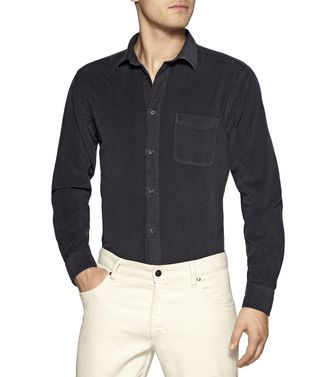 ZEGNA SPORT: Casual Shirt Blue - 38337033TW