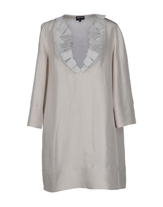Фото GIORGIO ARMANI Короткое платье. Купить с доставкой