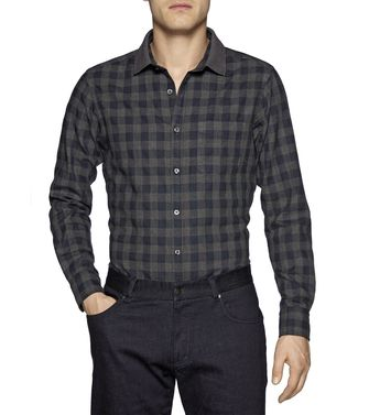 ZEGNA SPORT: Casual Shirt Blue - 38342878LO