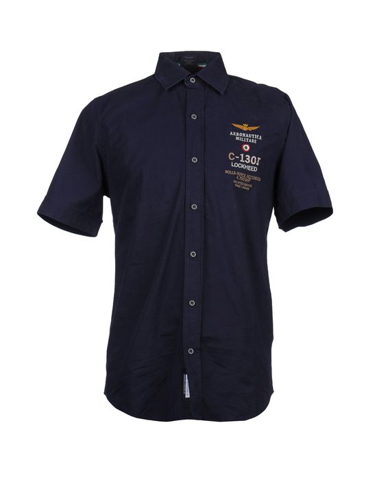 все цены на  AERONAUTICA MILITARE Рубашка с короткими рукавами  в интернете