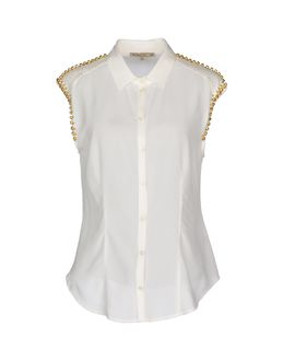 PATRIZIA PEPE Sleeveless shirts $ 158.00
