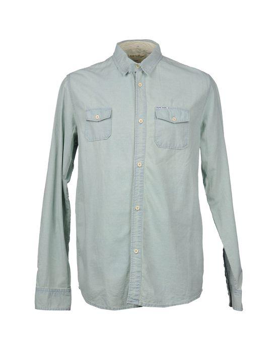 цена  PORTOBELLO BY PEPE JEANS Рубашка с длинными рукавами  онлайн в 2017 году