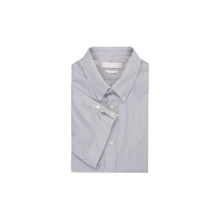 Alexander McQueen, Fine Stripe Short Sleeve Shirt
