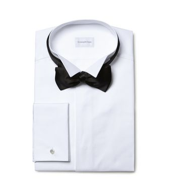 ERMENEGILDO ZEGNA: Formal Shirt White - 38352066XR
