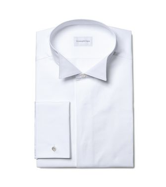 ERMENEGILDO ZEGNA: Formal Shirt  - 38352066XR