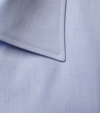 ERMENEGILDO ZEGNA: Formal Shirt Blue - 38352067KF