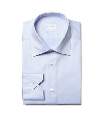 ERMENEGILDO ZEGNA: Formal Shirt  - 38352067KF