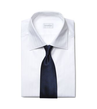 ERMENEGILDO ZEGNA: Formal Shirt Blue - 38352069PU