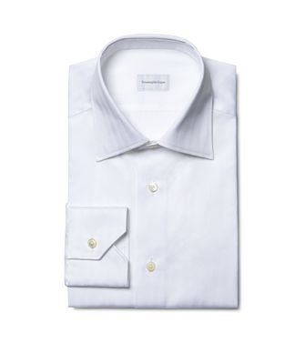 ERMENEGILDO ZEGNA: Formal Shirt  - 38352069PU