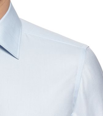 ERMENEGILDO ZEGNA: Formal Shirt Sky blue - 38352072VQ