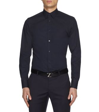 ZZEGNA: Formal Shirt Blue - 38352076TL