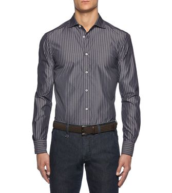 ERMENEGILDO ZEGNA: Casual Shirt Grey - 38352833IS
