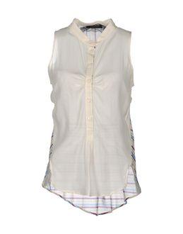 PATRIZIA PEPE SERA Sleeveless shirts $ 119.00