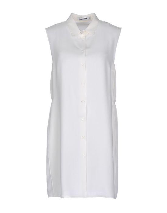 Фото JIL SANDER Короткое платье. Купить с доставкой