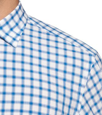 ZEGNA SPORT: Casual Shirt Blue - 38356823PU