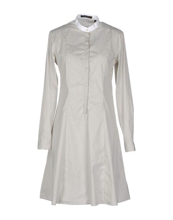 Фото SCAGLIONE CITY Короткое платье. Купить с доставкой