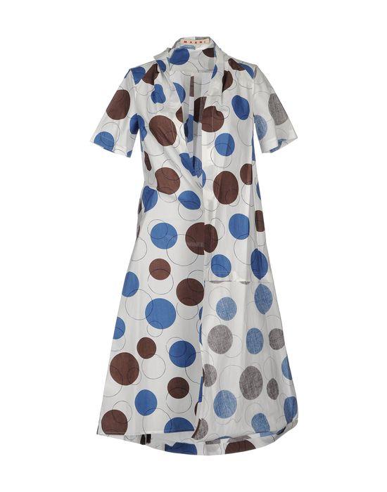 Фото MARNI Платье длиной 3/4. Купить с доставкой