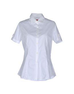 ANTONIO FUSCO RED - РУБАШКИ - Рубашки с короткими рукавами