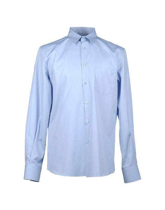 цена  ALEXANDER MCQUEEN Рубашка с длинными рукавами  онлайн в 2017 году