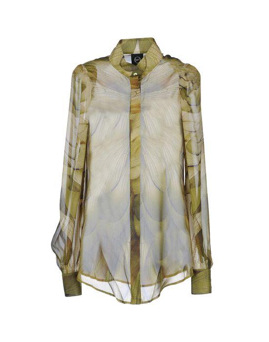 цена  MCQ ALEXANDER MCQUEEN Рубашка с длинными рукавами  онлайн в 2017 году