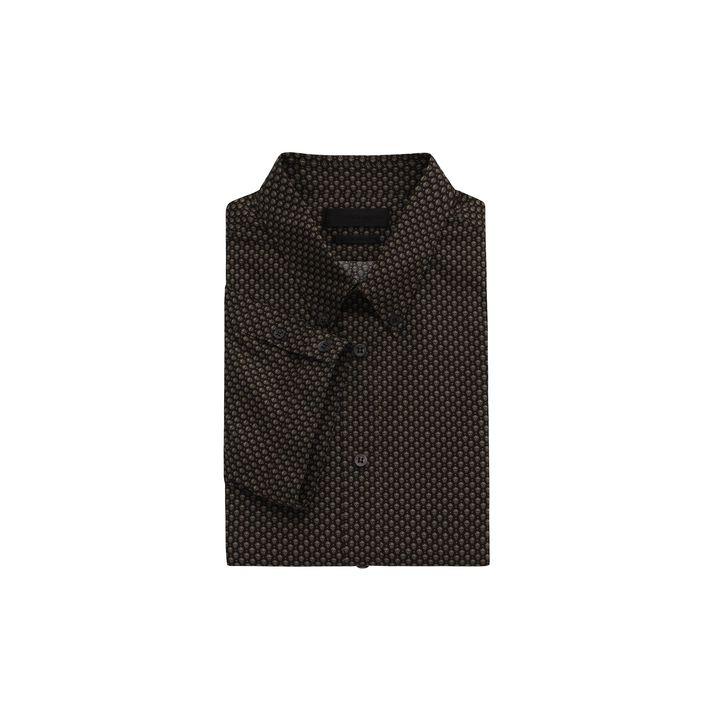 Alexander McQueen, Polka Skull Short Sleeve Shirt