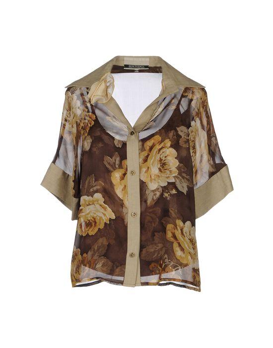 цена  BENCIVENGA COUTURE Рубашка с короткими рукавами  онлайн в 2017 году