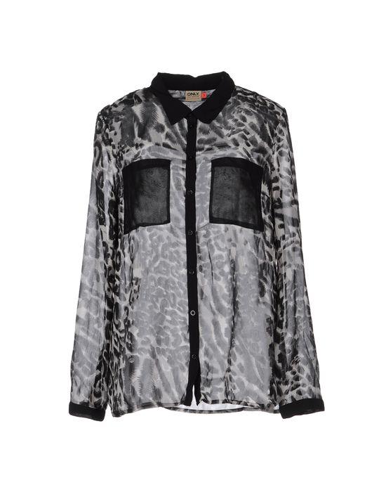 цена  ONLY Рубашка с длинными рукавами  онлайн в 2017 году