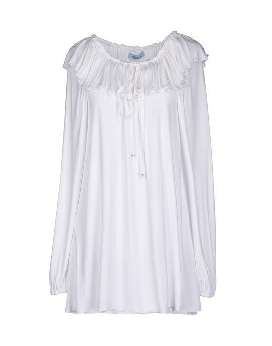 Фото BLUMARINE Короткое платье. Купить с доставкой