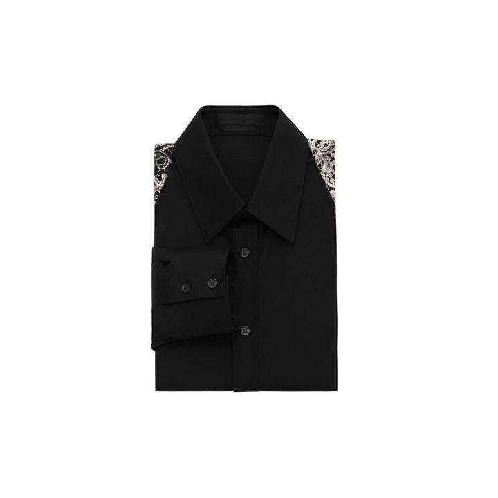 Alexander McQueen, Skull Lace Harness Shirt
