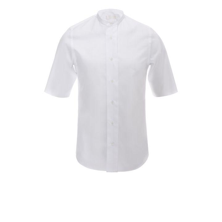 Alexander McQueen, Short Collar Short-Sleeve Shirt