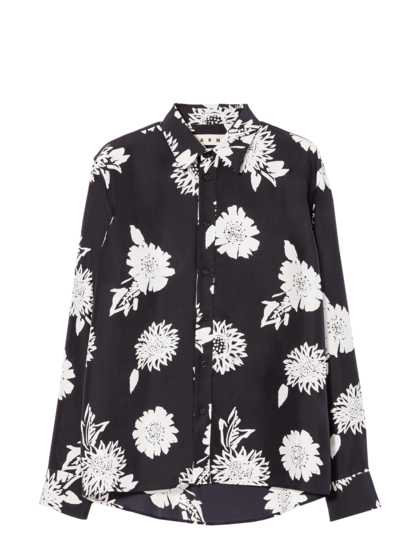 MARNI - Рубашка с длинным рукавом