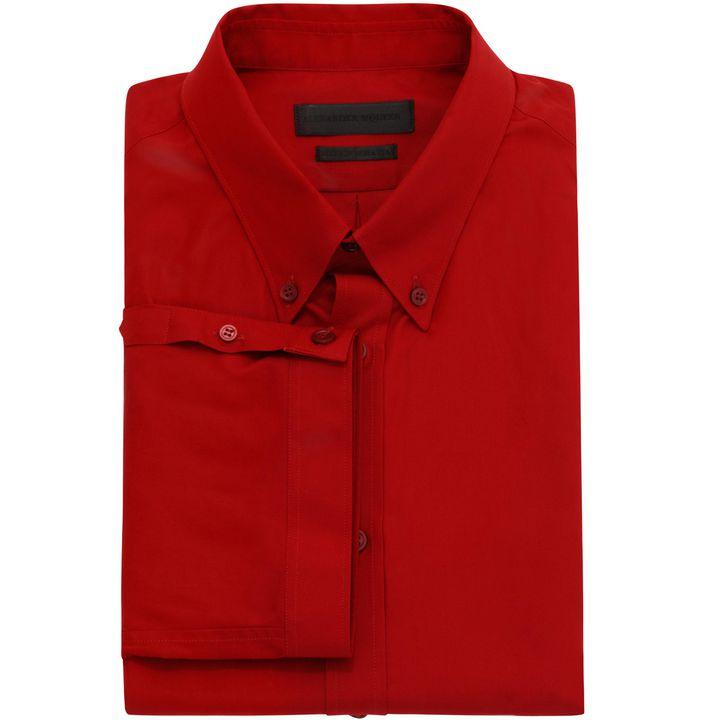 Alexander McQueen, Cotton Short Sleeve Shirt