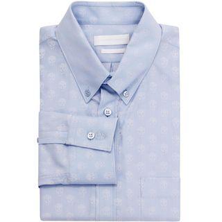 ALEXANDER MCQUEEN, Long Sleeve Shirt, Skull Jacquard Long Sleeve Shirt