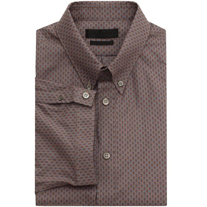 Alexander McQueen, Skull Polka Dot Short Sleeve Shirt
