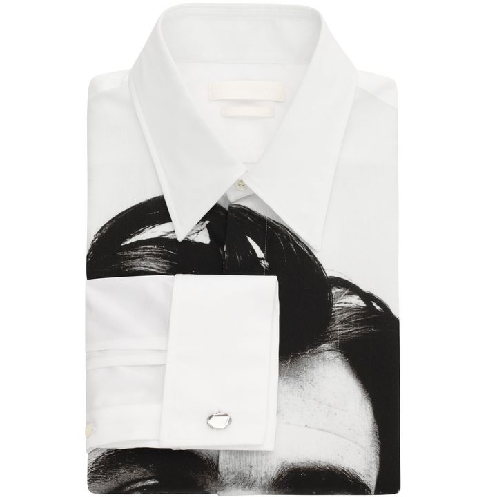 Alexander McQueen, Portrait Print Shirt
