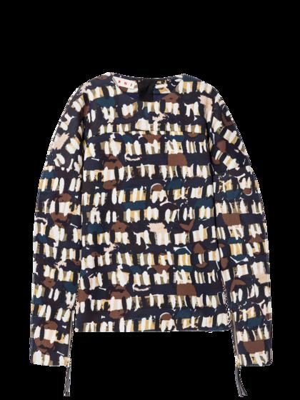 MARNI - Camicia manica lunga
