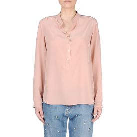 STELLA McCARTNEY, Shirt, Rose Silk Eva Shirt