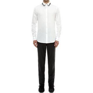 ALEXANDER MCQUEEN, Long Sleeve Shirt, Embroidered Shirt